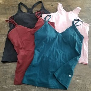 Lululemon bundle of tops - size 10